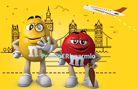 Logo ''Vivi il Mondo M&M's'' e vinci viaggi a Londra per 2 persone