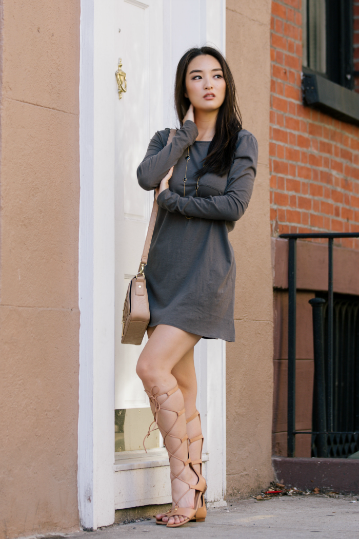 chaser shirt dress