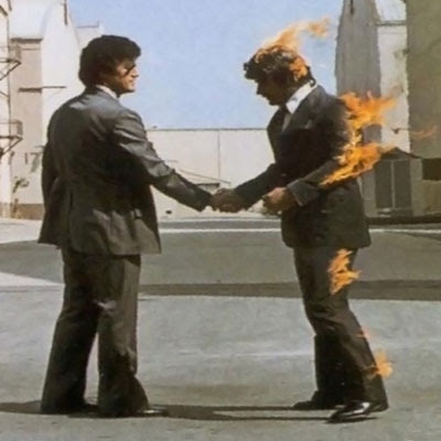 Rest In Peace, Storm Thorgerson: Pink Floyd - Wish You Were Here