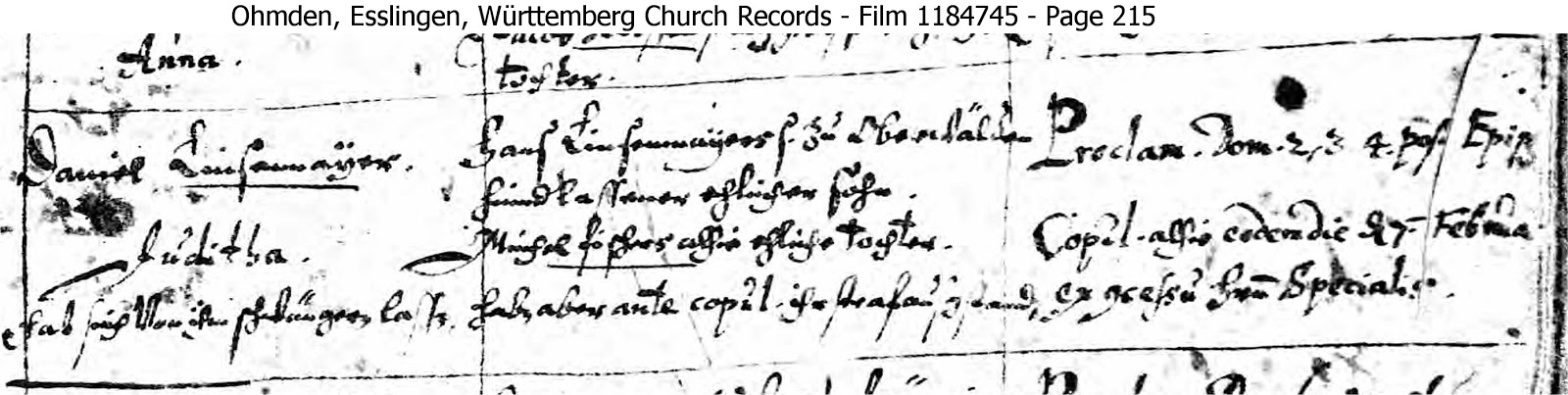 Len Esslingen matt s genealogy ancestors of magdalena and