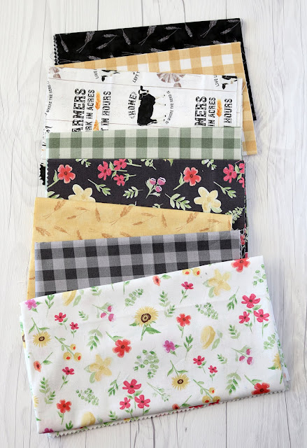 Homestead Life fabrics by Tara Reed and Riley Blake Designs - found on A Bright Corner