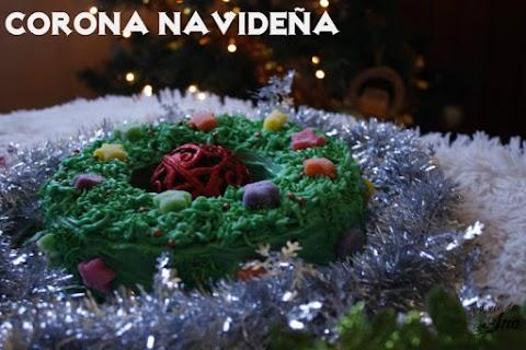 Pastel de almendras para navidad