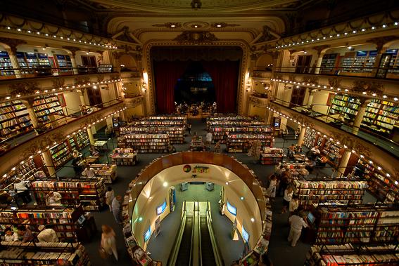 Libreria Ateneo en Buenos Aires