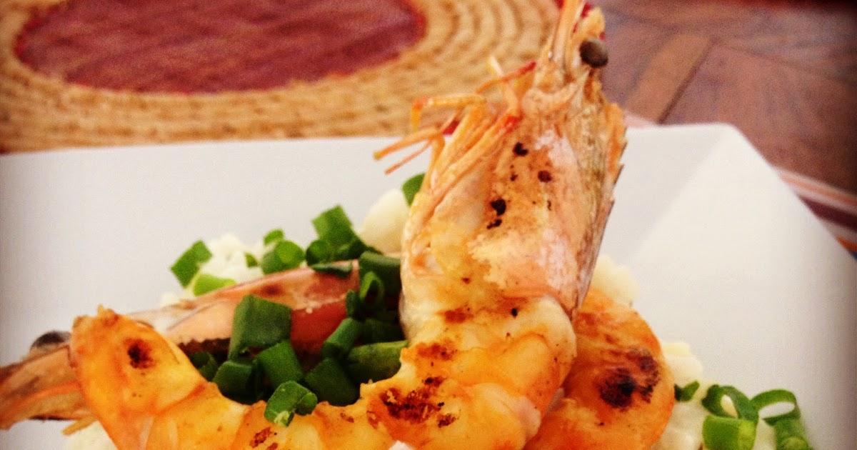 Sweet Kwisine: Le risotto au citron vert et crevettes poêlées