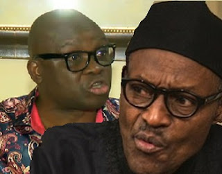 BUHARI, A Major Problem Nigerians MUST Solve - Fayose Tears The President Again