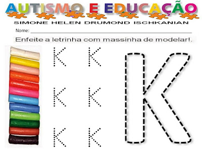 atividades com massinha para educação infantil