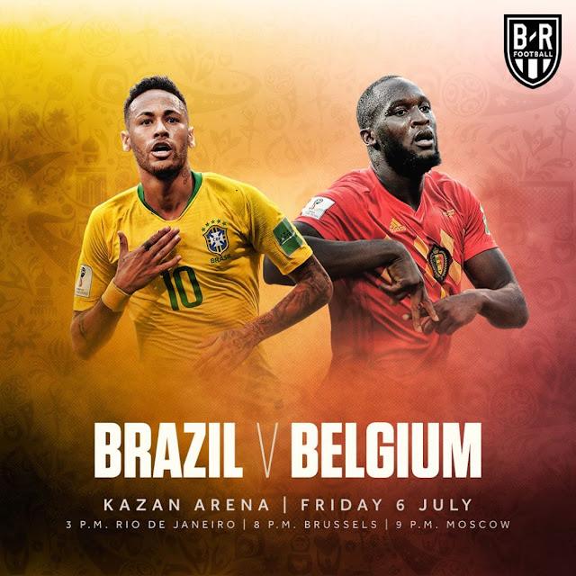 Prediksi Uruguay vs Perancis, Brazil vs Belgia, Perempat Final Piala Dunia 2018