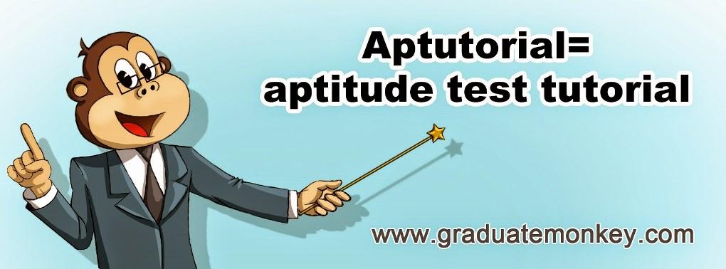 Aptutorials - aptitude test tutorials