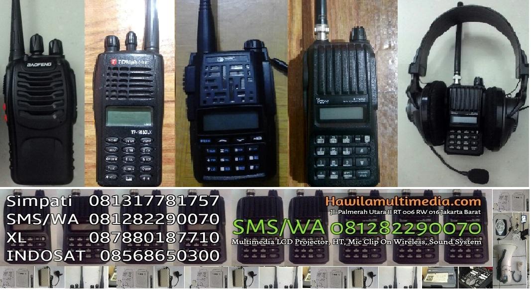"""""""Sewa HT VHF, Handie Talkie UHF DKI Jakarta, BSD Serpong, Tangsel, Tangerang, Bekasi, Depok"""""""