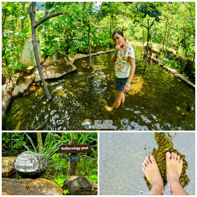 Reflexology Pool @ The Banjaran Hotsprings Retreat, Ipoh