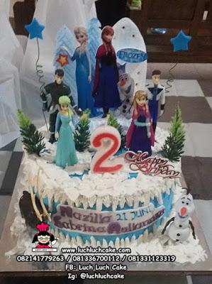 Kue Tart Ulang Tahun Frozen