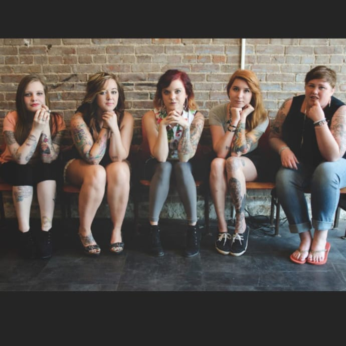 Tlc to launch series tattoo girls about a shop in for Tattoo parlors in springfield mo