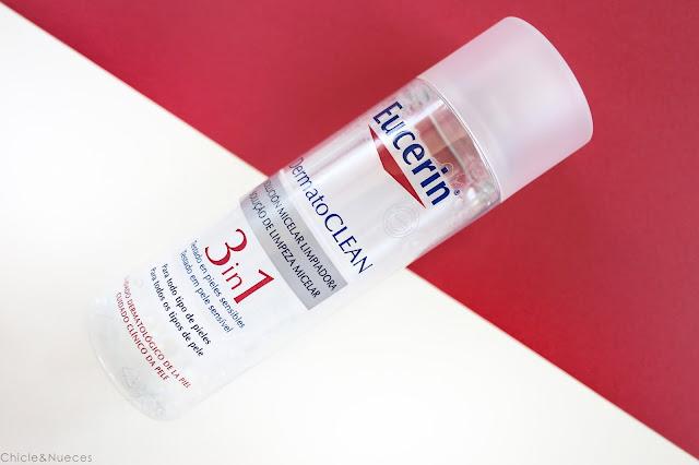 Agua micelar 3 en 1 Eucerin