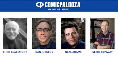 Comicpalooza 2019 Brings Legendary Comic Book Creators to Texas this Weekend!