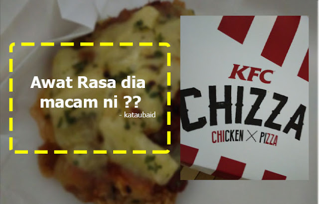 review KFC Chizza