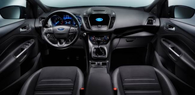 2017 Ford Kuga Vignale Concept, UK, Review