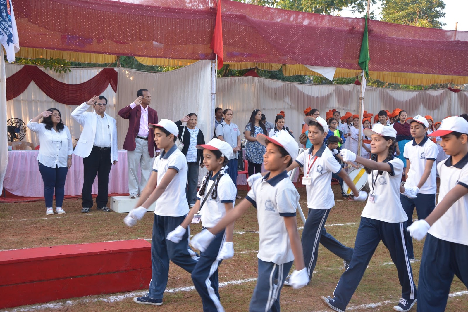 welcome address for annual sports meet