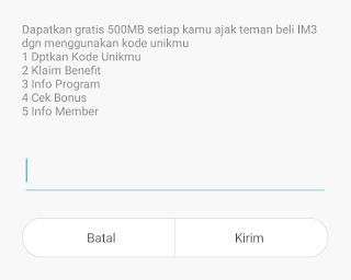 Cara Mendapatkan Kuota Gratis Indosat Terbaru 500 MB Berkali Kali