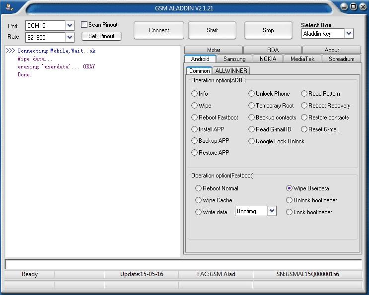 Hitech Amaze S300i Rda8810 Wipe Data Done By Gsm Aladdin