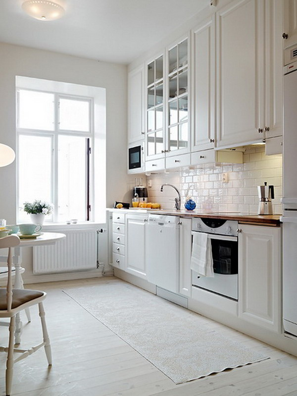 Modern White kitchen furniture 7