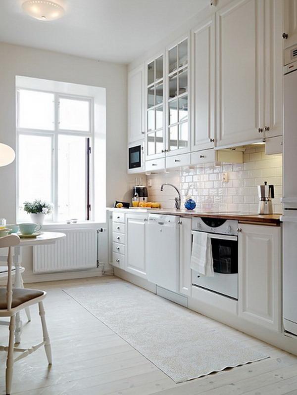 Modern White kitchen furniture 7