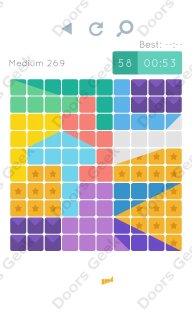Cheats, Walkthrough for Blocks and Shapes Medium Level 269