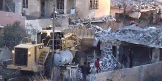 Milisi Syiah Irak Robohkan Ratusan Rumah Warga Sunni di Mosul Barat