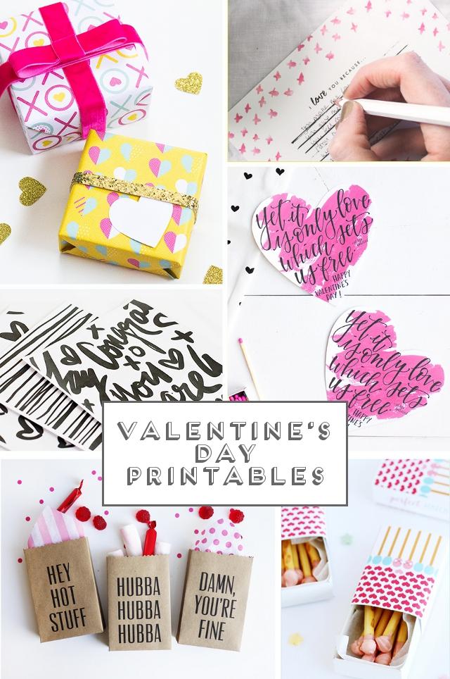 6 Valentine's Day Printables
