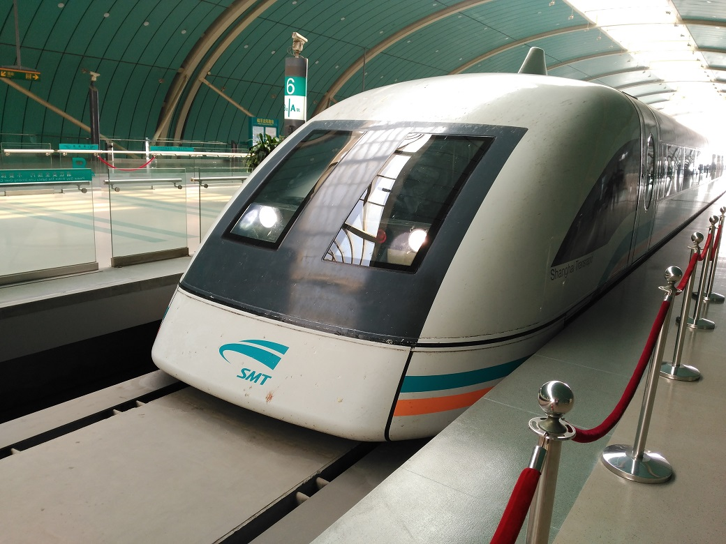 Resultado de imagen de Maglev de Shanghai