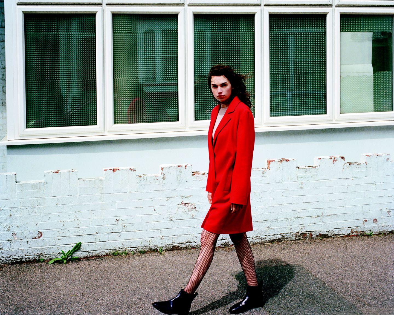 The Primark Red Coat