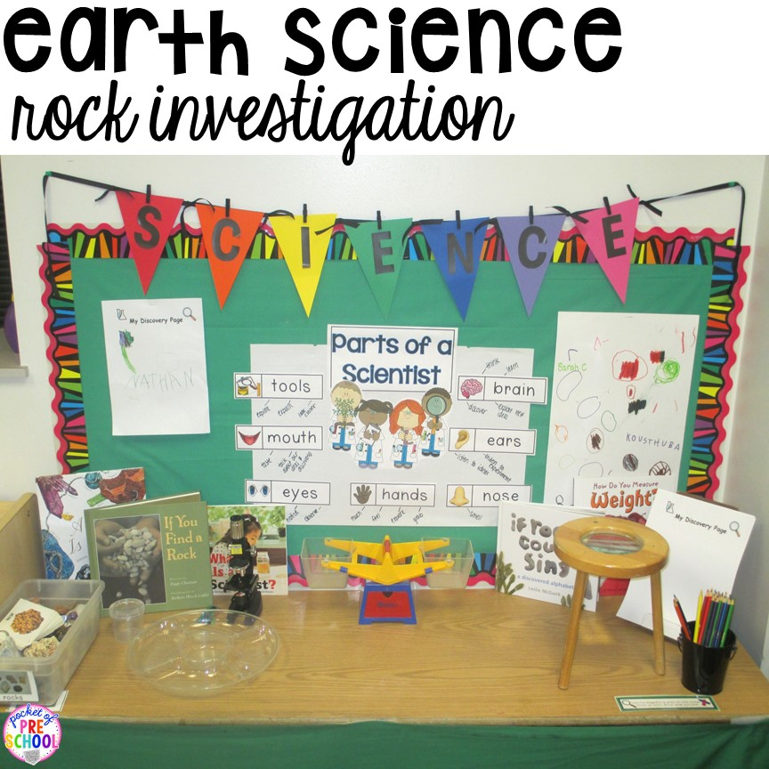 How To Set Up The Science Center With Freebies In Your Early Childhood Classroom