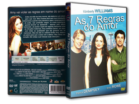 Capa DVD As 7 Regras do Amor
