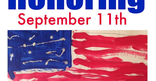 Remembering September 11th in Song + Children's Patriotic Artwork