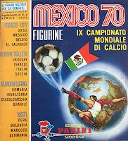 Album Panini Messico 70