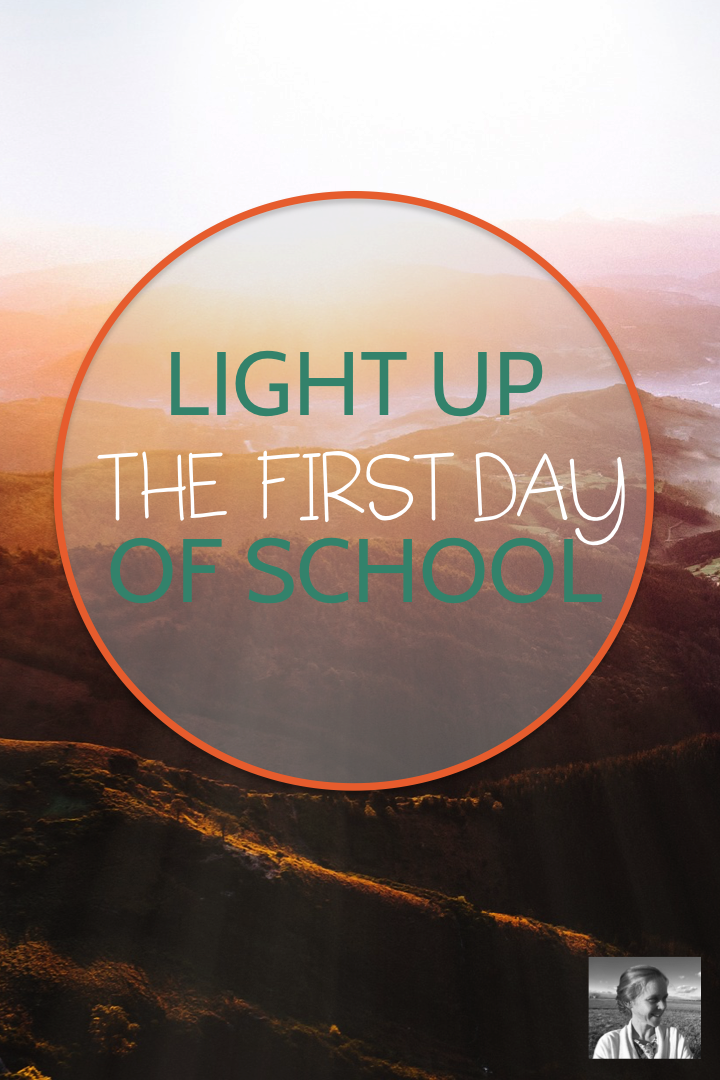 Light Up the First Day of School - Spark Creativity