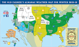 Farmer's Almanac Winter 2018-19