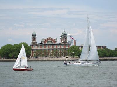 Sailing by Ellis Island. 6/3/2012 (unedited photo)