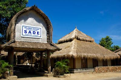 rumah desa sade suku sasak wisata lombok