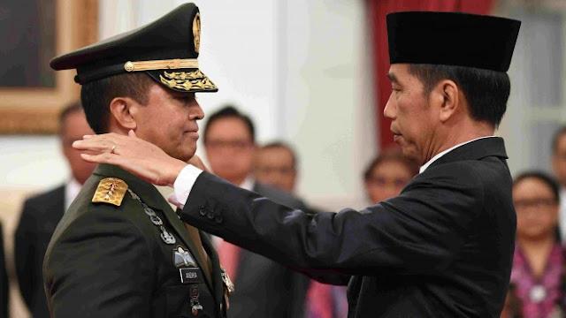 Menuju Panglima? Ini Alasan Jokowi Pilih Andika (Menantu AM Hendro) Jadi KSAD
