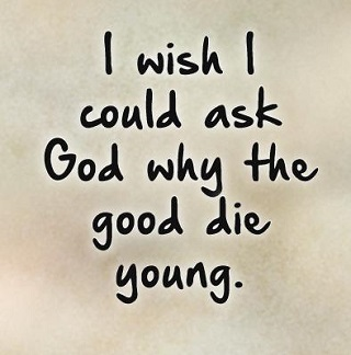 Quotes On Death Young Death Quotes And Saying  Dying Young Quotes ~ Death Quotes