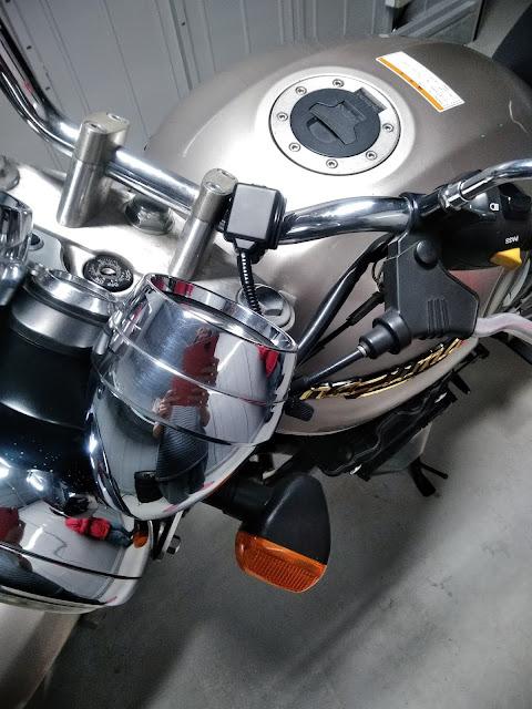 バイク用ETCの写真