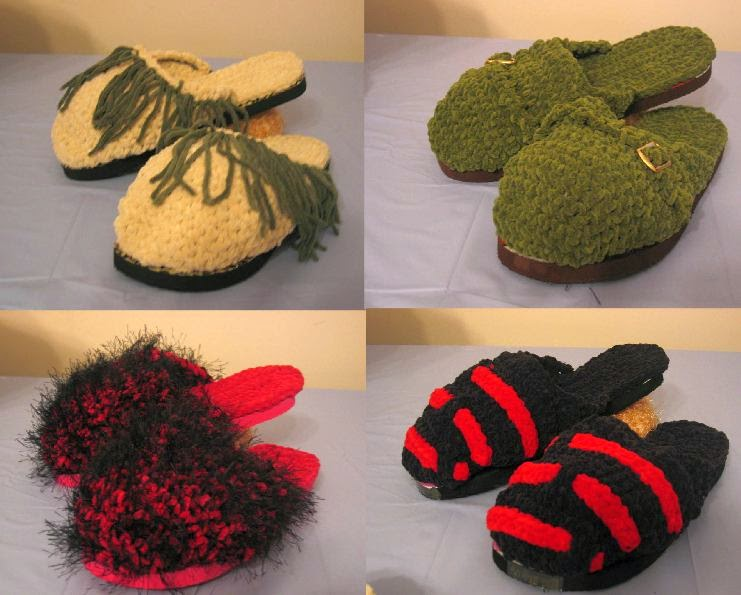 Donna S Crochet Designs Blog Of Free Patterns Four Clog Slipper
