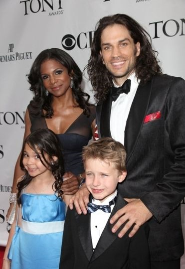 Audra Mcdonald and her family...