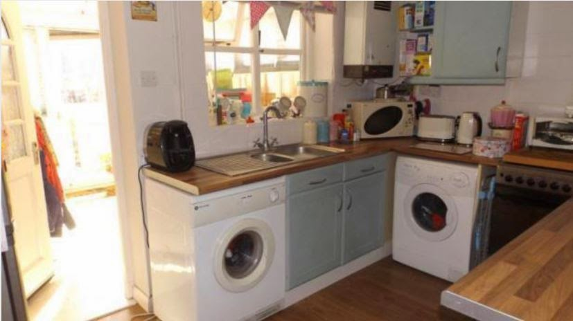 chichester buy to let property kitchen