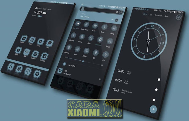 Download Link MIUI Meki Dark Mtz For Xiaomi MIUI