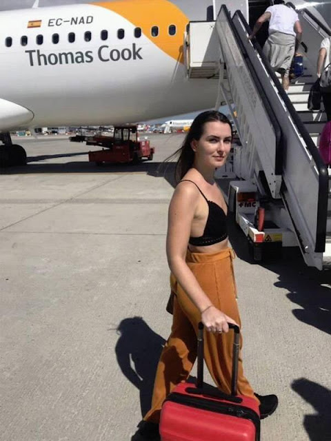 منع فتاة من صعود الطائرة بسبب لباسها الفاضح والرحلة تتأخر 20 دقيقة..