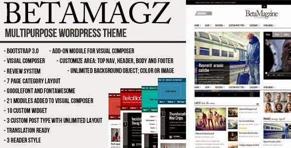 Best Multipurpose Theme For WP Magazine