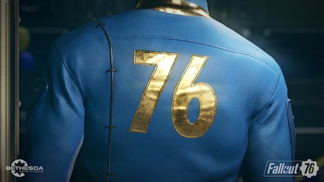 Fallout 76 Vault suit