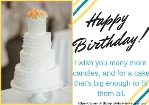 Funny Birthday Wishes For Sister Images