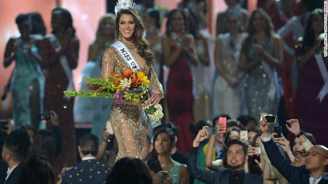 Miss France Iris Mittenaere wins Miss Universe 2016
